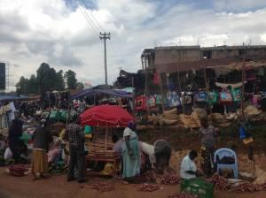 Market day in Kisii